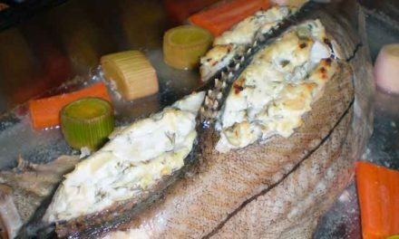 Dampet fisk i ovn