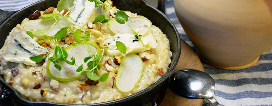 Selleri-risotto – Blød og cremet